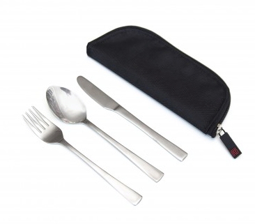 Cutlery Set SS In Case - The Organised Store