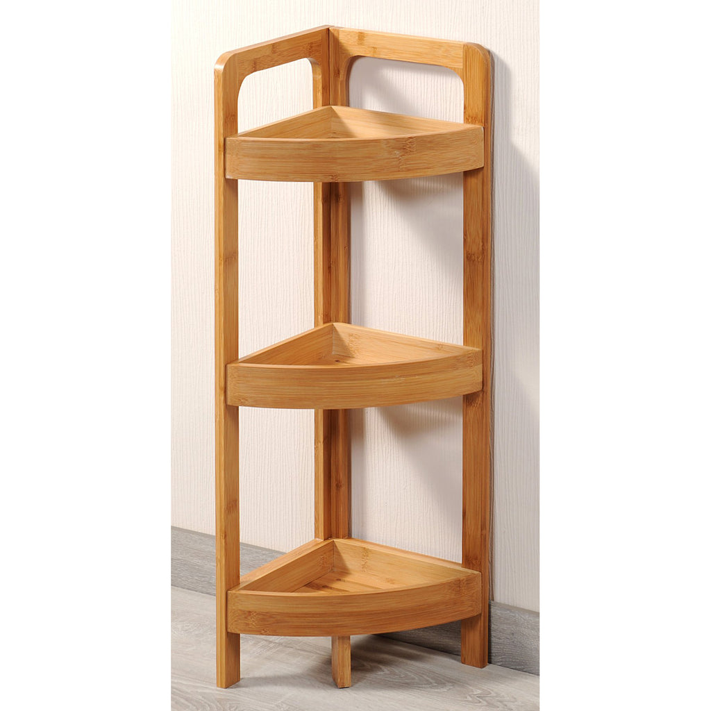 Bamboo Stand Corner - The Organised Store