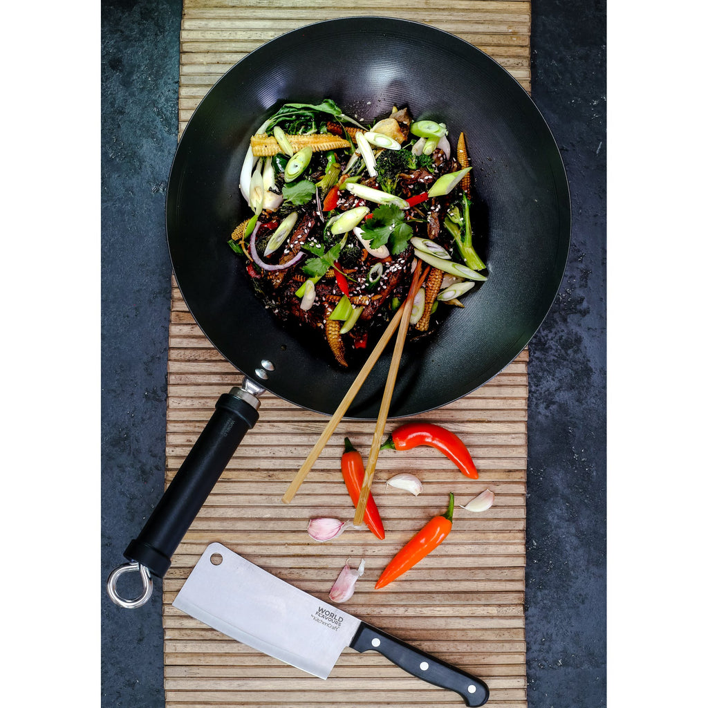 KitchenCraft World of Flavours Stir Fry Gift Set