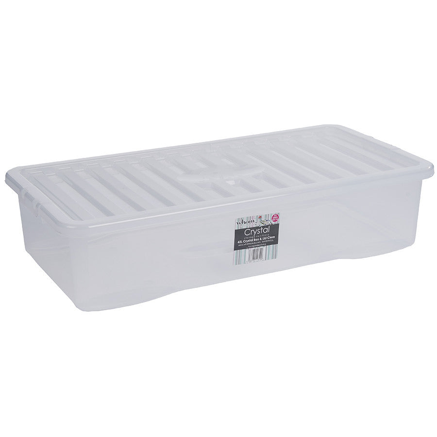 42LT CRYSTAL BOX & LID - The Organised Store
