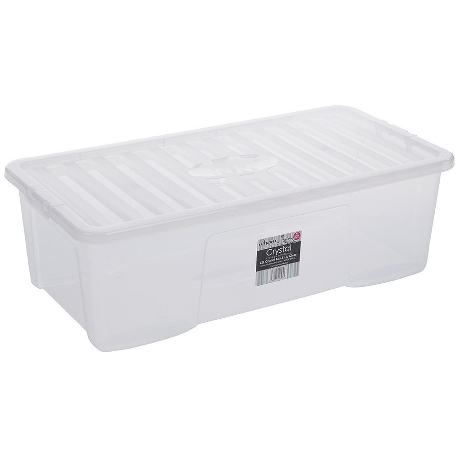 62LTR CRYSTAL BOX AND LID