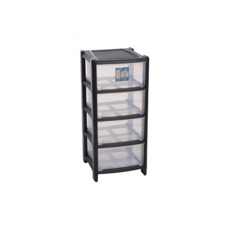 Deep 4 Drawer Unit