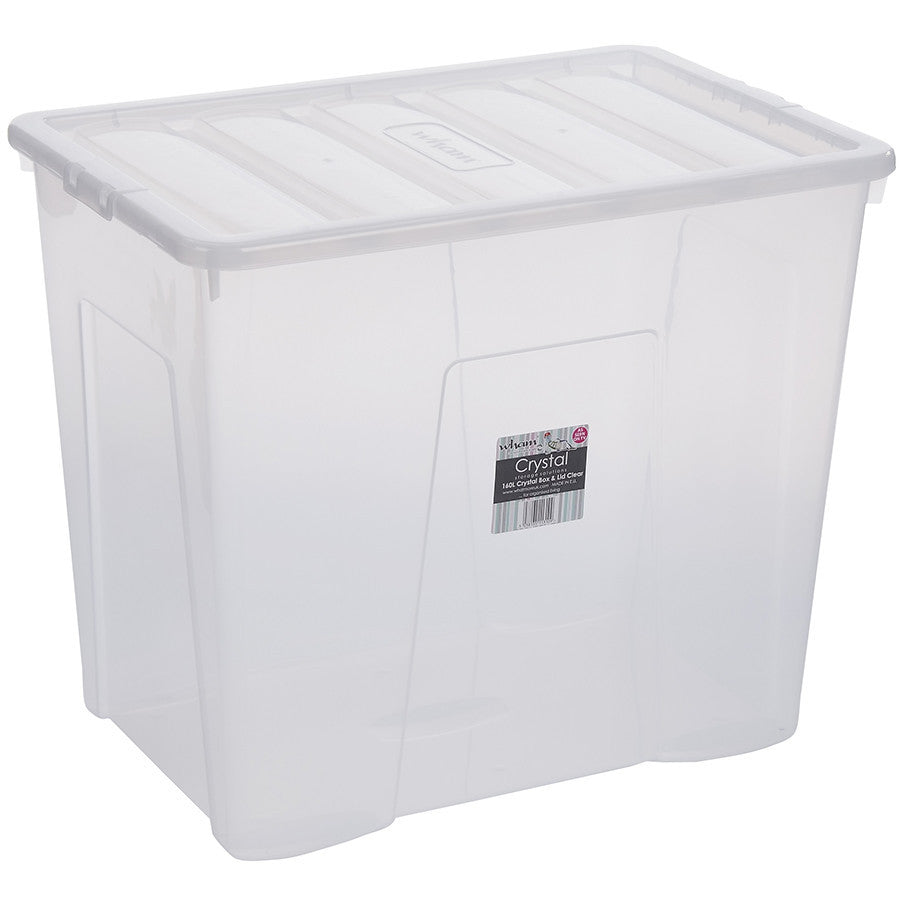 160LTR CRYSTAL BOX & LID - The Organised Store