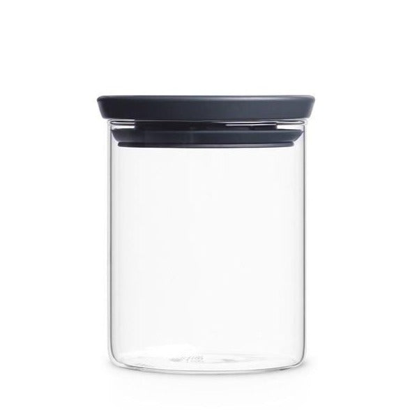 Stackable Glass Jar 0.6L