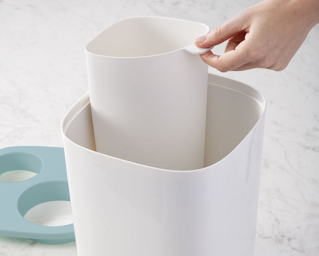 Bathroom Split Bin