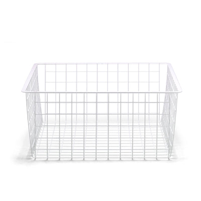 Ventilated Shelf Basket White