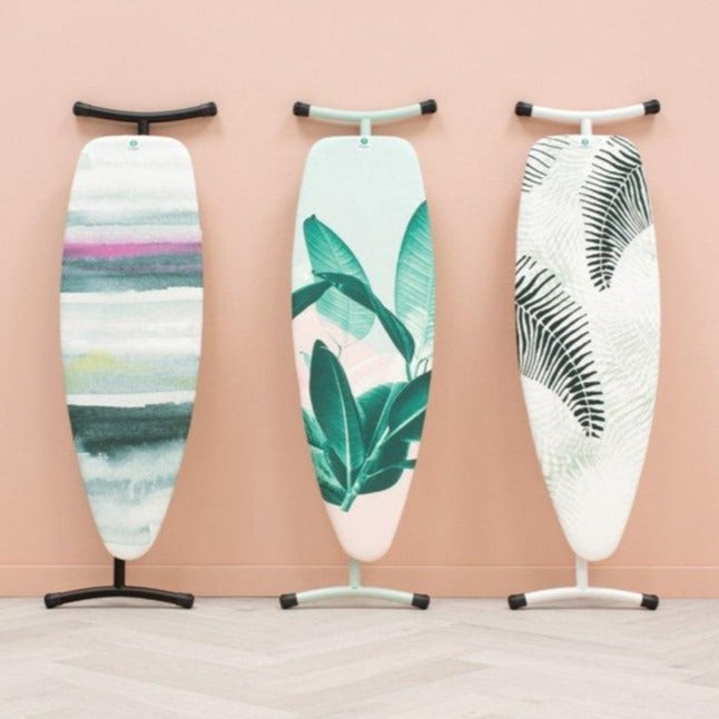 Ironing Board D 135x45cm Silicone Heat Pad-Various Designs