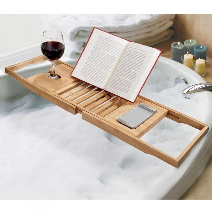 Bamboo Bath Caddy – The Organised Store