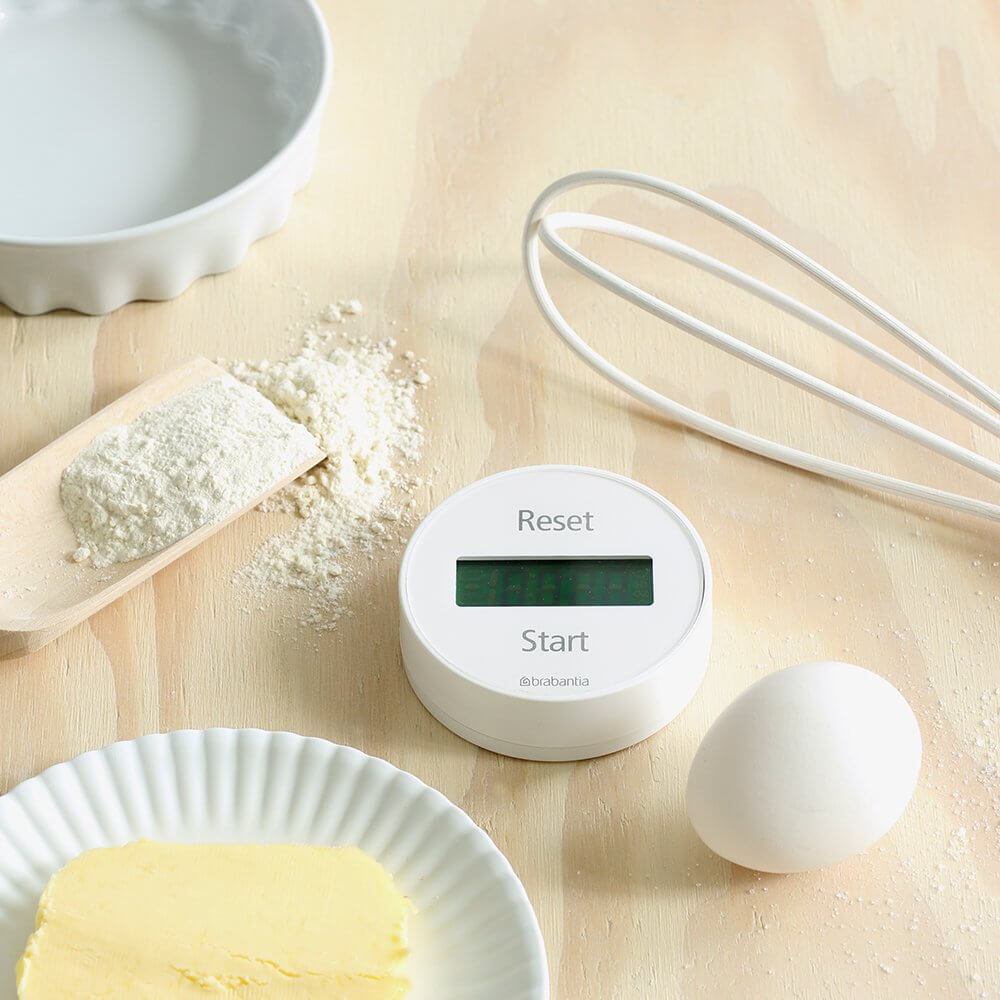 Kitchen Timer White - The Organised Store