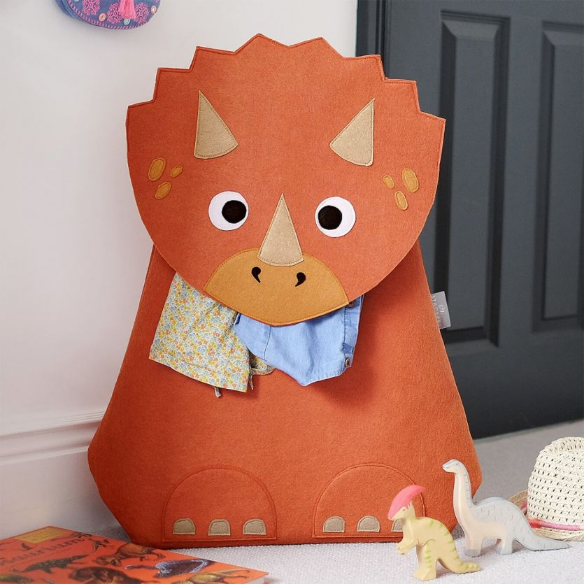 Troy Triceratops Laundry Storage Basket - The Organised Store
