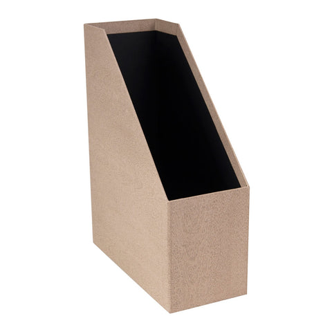 OSKAR DOCUMENT BOX A4 Black Oak
