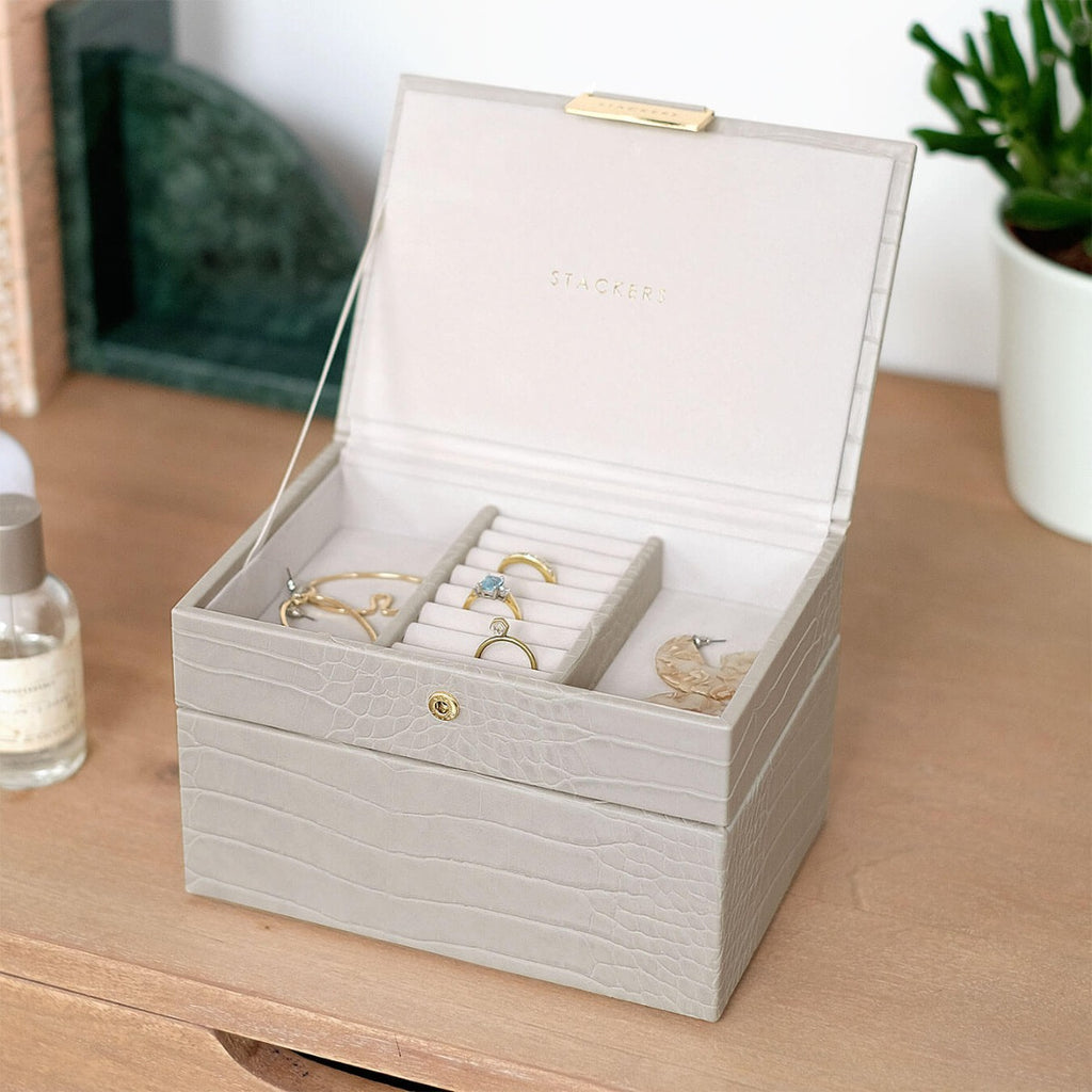 Stackers Mini Jewellery Box - 2 Layers - The Organised Store