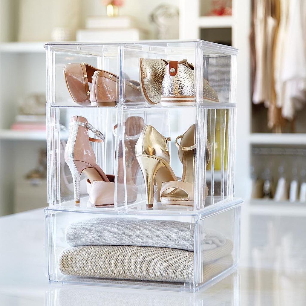 Clear Stackable Drawers-Various sizes