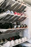 Elfa Shoe Storage Wall - Custom to your needs - The Organised Store