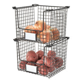 Stackable Pantry Basket
