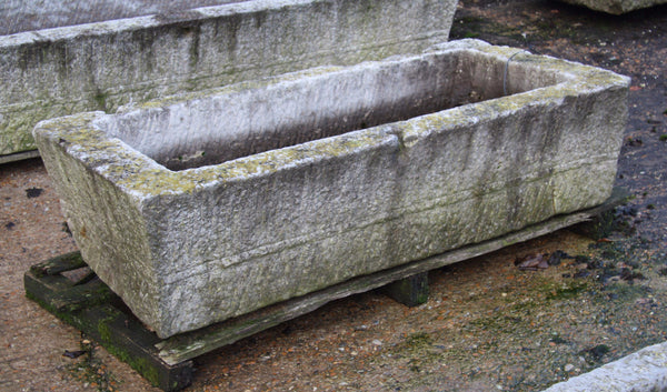 Antique stone trough 006.     1340 mm (L)