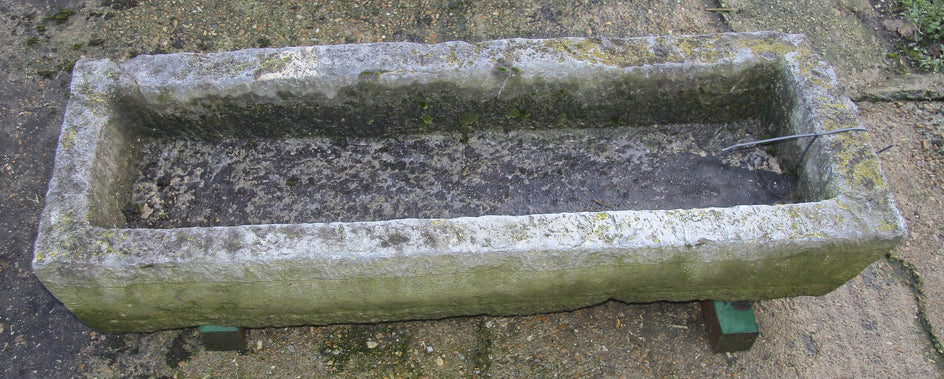 Antique Stone Trough 007.       1510 mm (L)