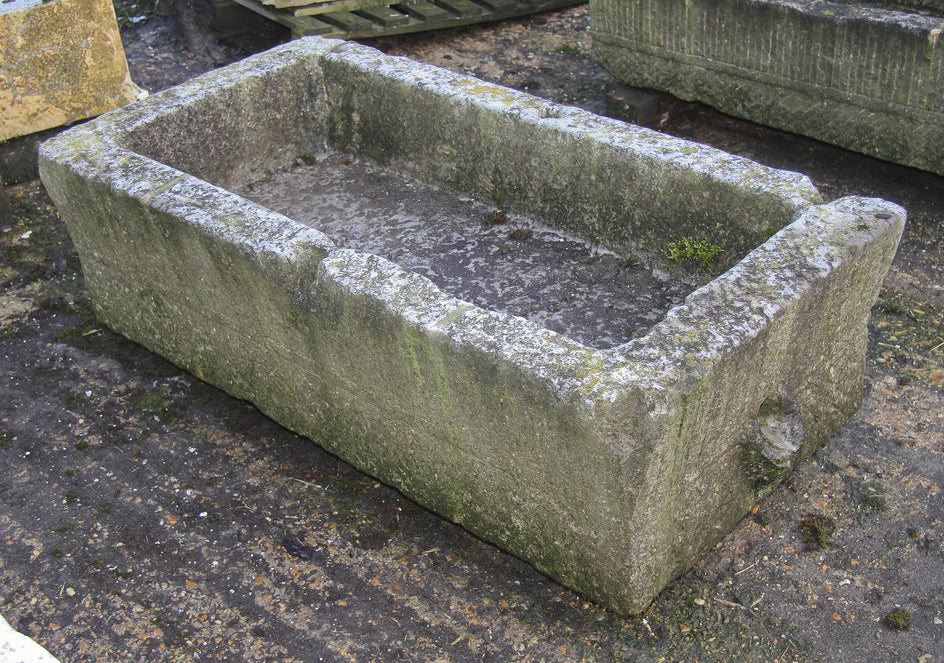 Antique Stone Trough 012.         1190 mm (L)
