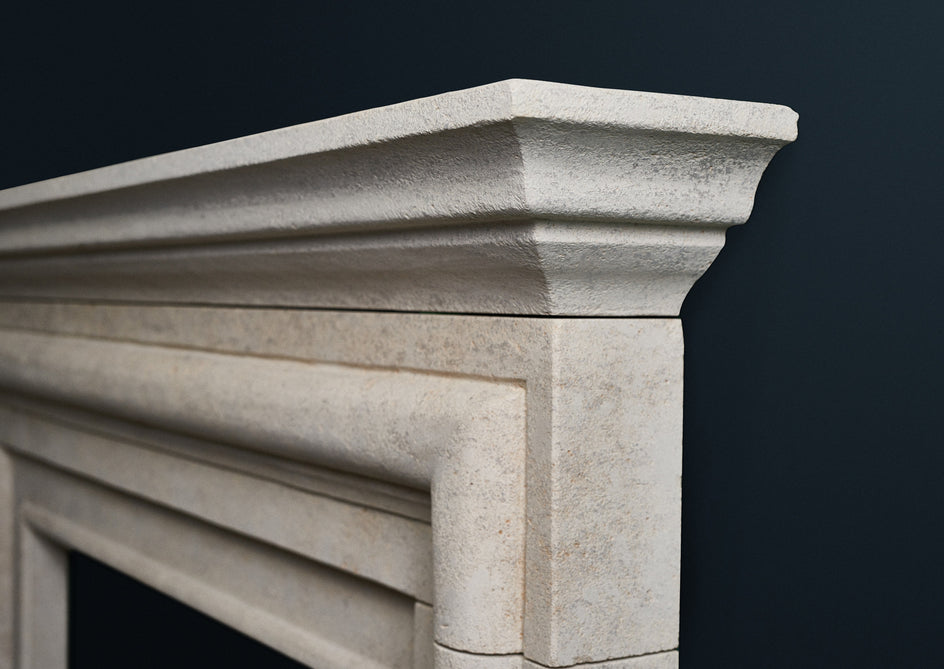 18th Century Bolection. (Burgundian Limestone)