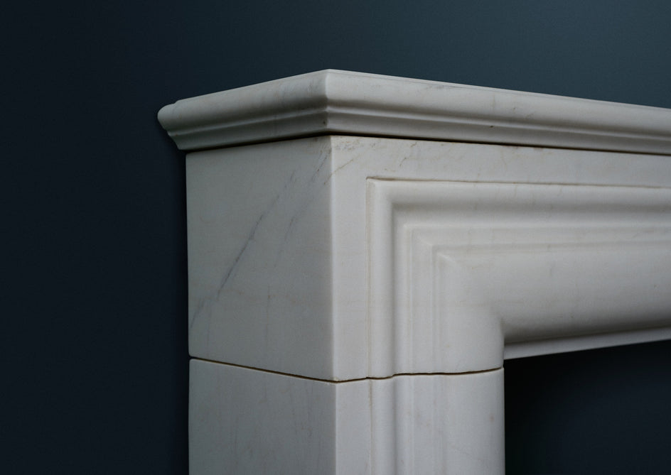 "17th Century ""B"" Size. (White Marble)"