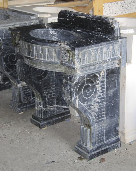 Black & White marble wash basin