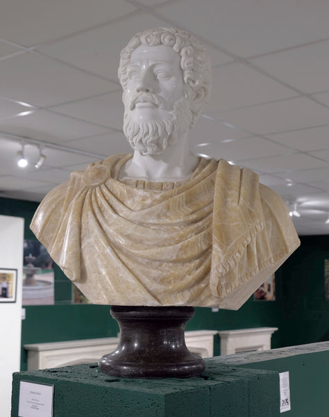 Roman bust in Songxiang mix marble