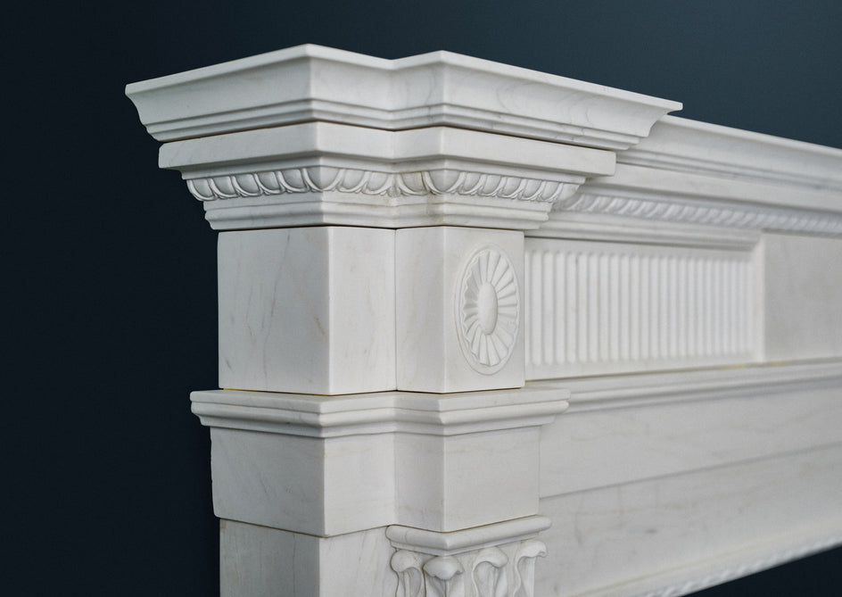 The Late Georgian. (White Marble)