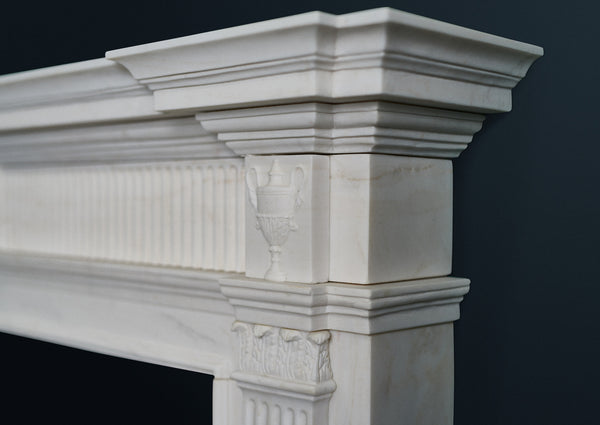 Robert Adam Georgian marble fire surround.