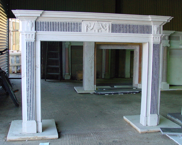 Robert Adam A size fireplace