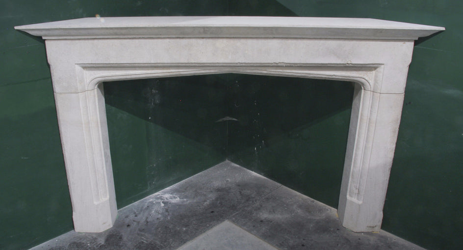 Later Tudor Corner Fireplace