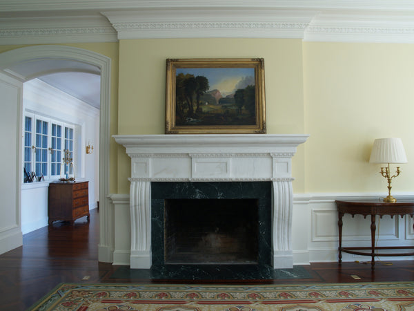 45. Bespoke Colonial Marble Fireplace