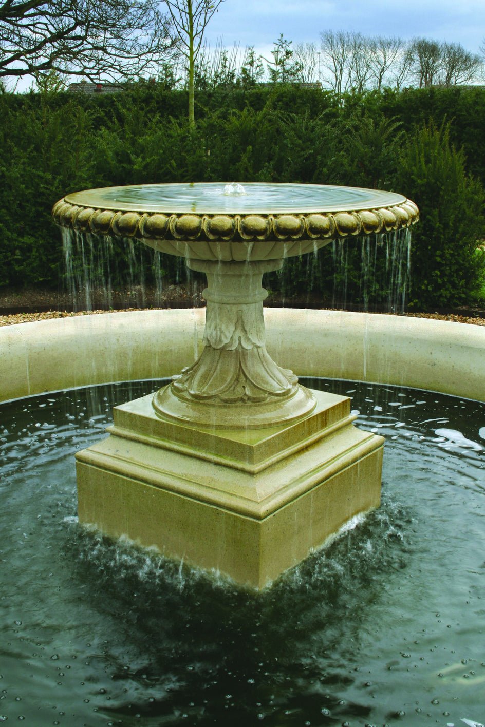 53.  Bespoke Stone Trickle Fountain