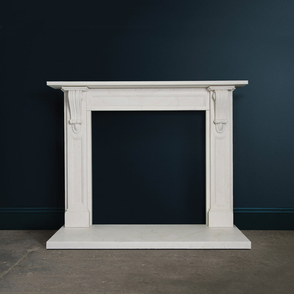 The Victorian Classic. (White Marble)
