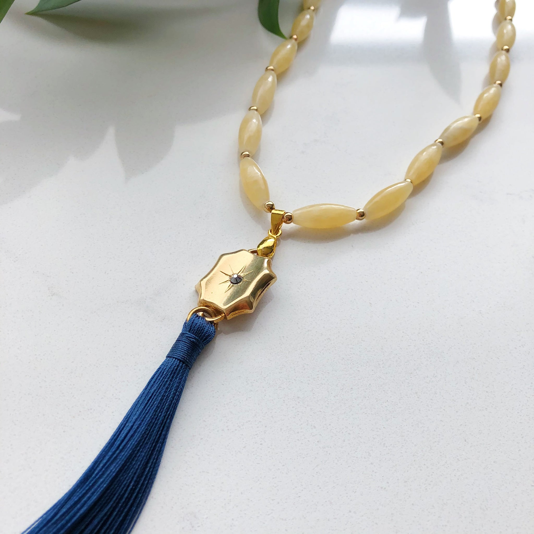 Baroque Tassel Necklace