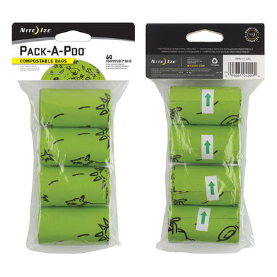 Pack-A-Poo Refill Bags - 4 Pack
