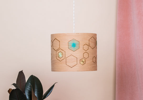 HEX Lampshade