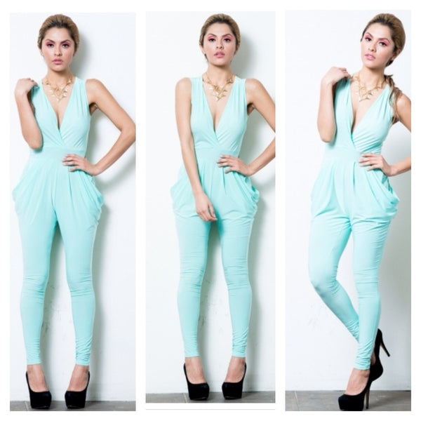 """Mint Condition"" V-Neck Jumpsuit"