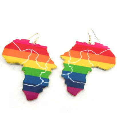 Colorful Africa Earrings