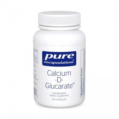 Calcium D-Glucarate (60 or 120 caps) Free shipping