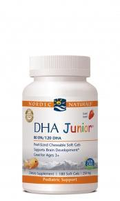 DHA Junior (180 soft gels) Free shipping when total order exceeds $100