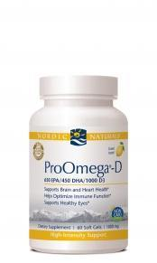 ProOmega-D Soft Gels.  Free shipping when total order exceeds $100