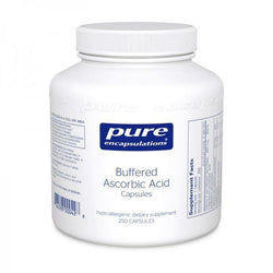 Buffered Ascorbic Acid Capsules (90 or 250 caps) Free shipping