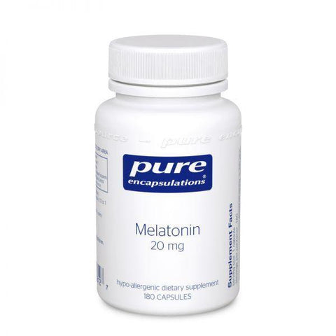 Melatonin 20mg (60, 180 caps) Free shipping