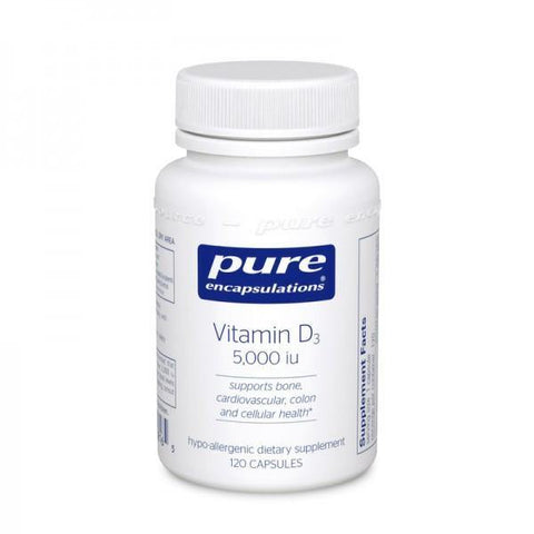 Vitamin D3 5000 iu's 120 caps