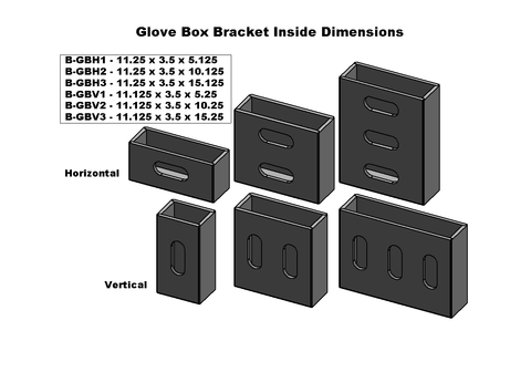 Rubber Glove Box Bracket