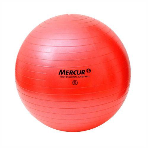 BOLA PROFESSIONAL GYM BALL - MERCUR - VERMELHA