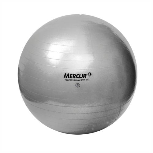 BOLA PROFESSIONAL GYM BALL - MERCUR - CINZA
