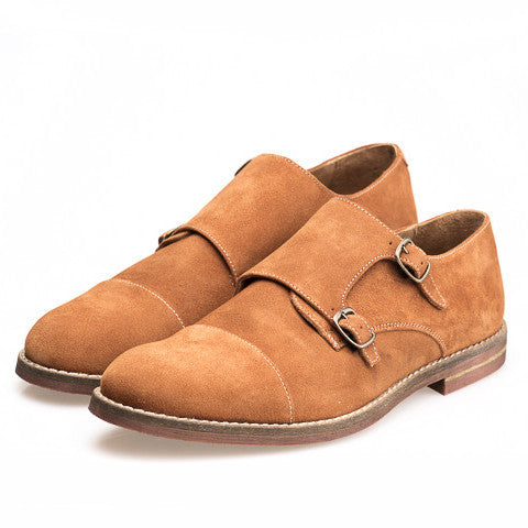 Zapatos de Doble Hebilla Brandy Luca