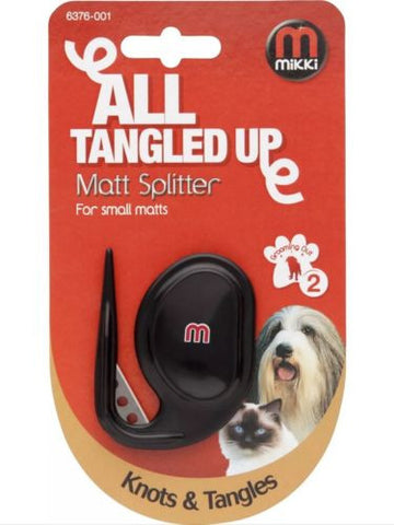 Mikki All Tangled up Matt Splitter for small matts 6736-001, Brushes, Combs & Rakes - Millie and Masons Pet Shop