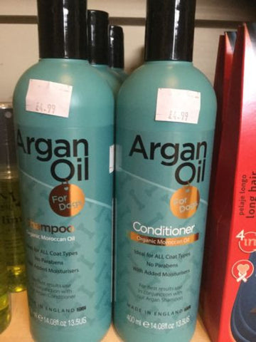 Natural Argan Oil Dog Shampoo And Conditioner Grooming No Parabens., Shampooing & Washing - Millie and Masons Pet Shop